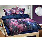 Bettwäsche Space blau – Duvetbezug – 160x210 cm