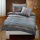 Bettwäsche mit feinen Streifen – Kissenbezug – 50x70 cm