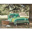 Bassetti Granfoulard Bettwäsche Nabucco verde – Kissenbezug – 50x70 cm