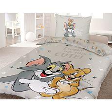 Bettwäsche mit den süssen Figuren Tom & Jerry