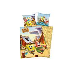 Bettwäsche  im Camp Coral mit Spongebob Patrick