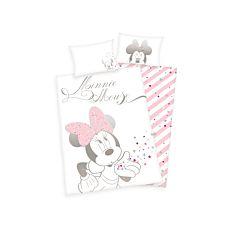 """Bettwäsche rosa-weiss mit """"Minnie Mouse"""""""