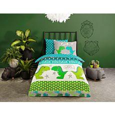 Bettwäsche Dinosaurier grün