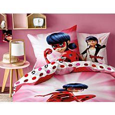 """Bettwäsche mit Ladybug aus der Erfolgsserie """"Miraculous"""""""