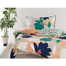 ESPRIT Bettwäsche Aurora Streifen und Blumen