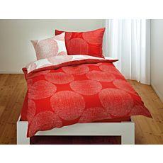 Bettwäsche mit grossen gepunkteten Kreisen