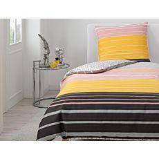 ESPRIT Bettwäsche mit farbigem Streifenmuster