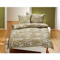 Bettwäsche mit floralem Muster