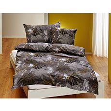 Bettwäsche mit blumigen Muster