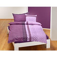 Bettwäsche Muster zweifarbig