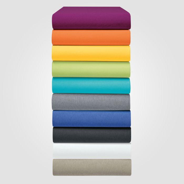 Jersey-Fixleintücher in diversen Farben