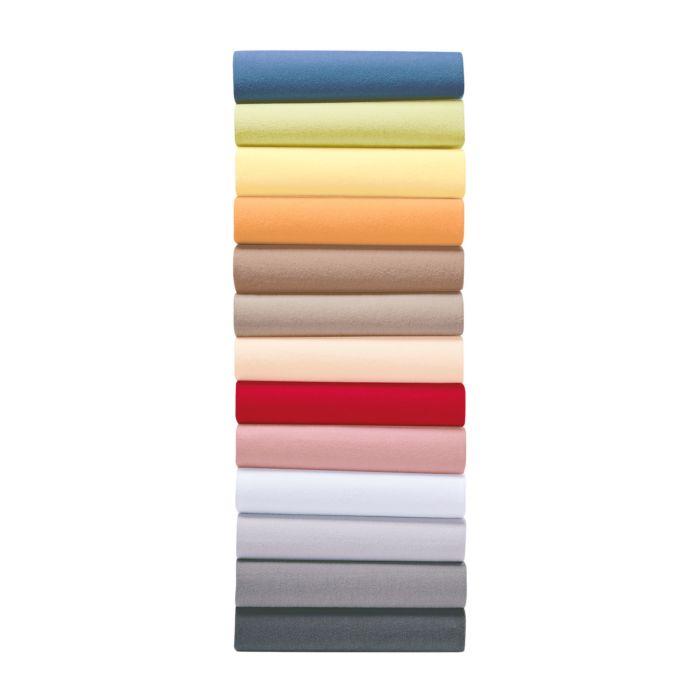 Fixleintücher aus weichem Flausch-Jersey