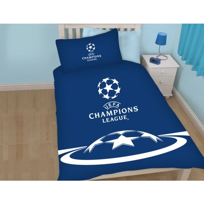 Bettwäsche UEFA Champions League blau