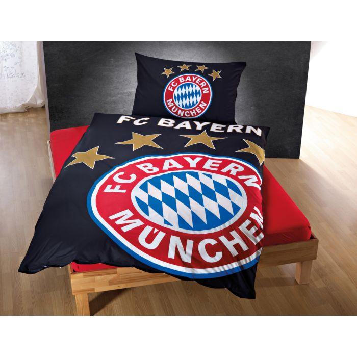 Fc Bayern München Bettwäsche Mit Leuchteffekt Günstig Bettwaeschech
