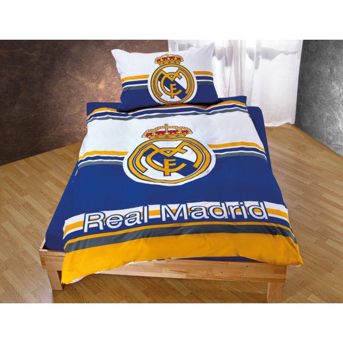 Real Madrid Bettwäsche Mit Grossem Logo Günstig Bettwaeschech