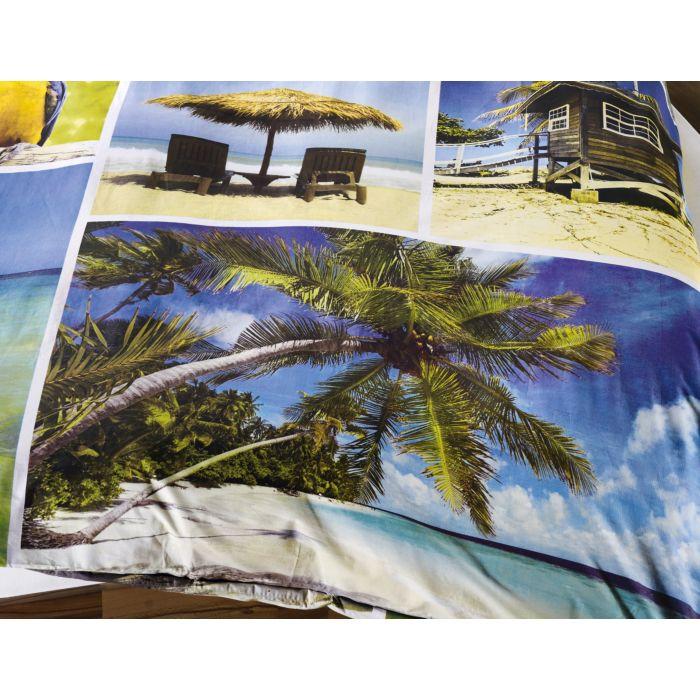 Bettwäsche Palmen Strand Liegen Papageien Günstig Bettwaeschech