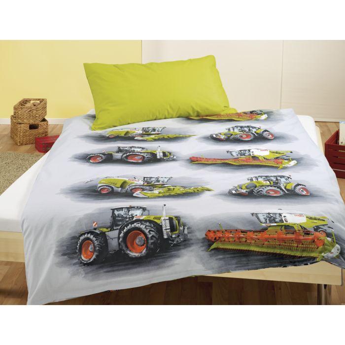 Bettwäsche CLAAS mit Traktoren & Mähdrescher Motiv