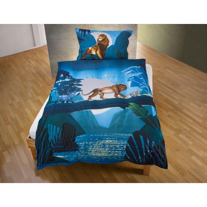"""Disney Bettwäsche """"Der König der Löwen"""" blau"""