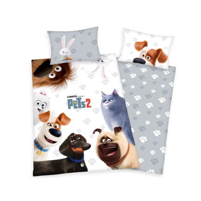 PETS 2 Bettwäsche zum Film mit 7 Tieren
