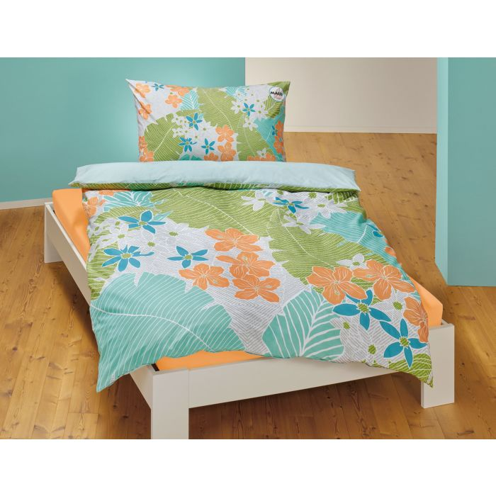Bettwäsche mit sommerlichem Blumenprint