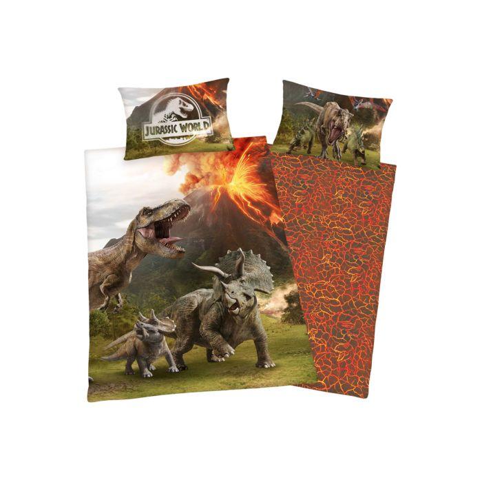 Bettwäsche Jurassic World mit Tyrannosaurus Rex
