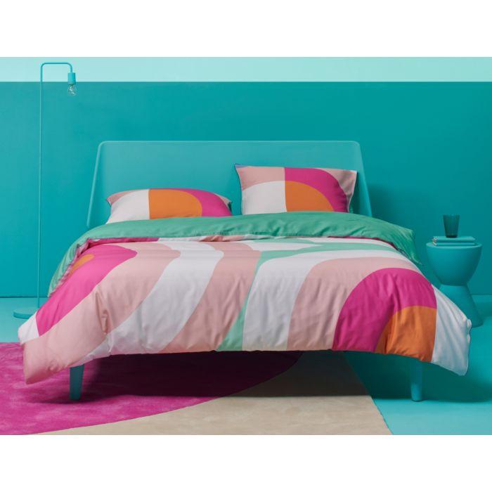 ESPRIT Bettwäsche mit modernem Muster in Pastellfarben