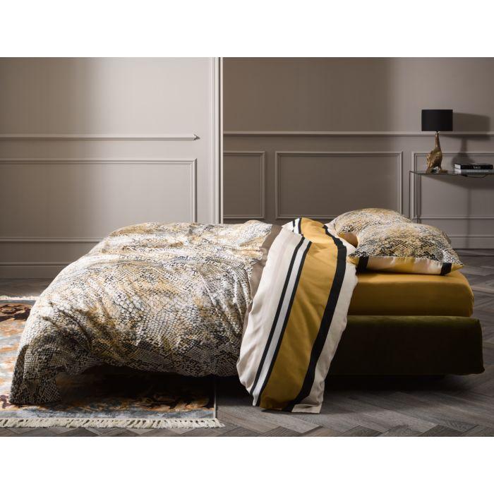 ESSENZA Bettwäsche in Streifen- und Schlangenoptikmuster aus Baumwolle